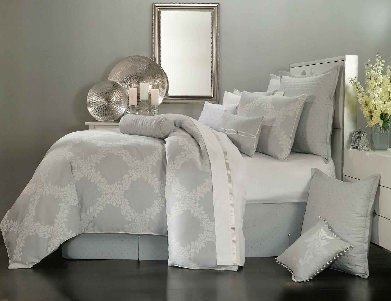Arbor grey by waterford luxury bedding beddingsuperstore com