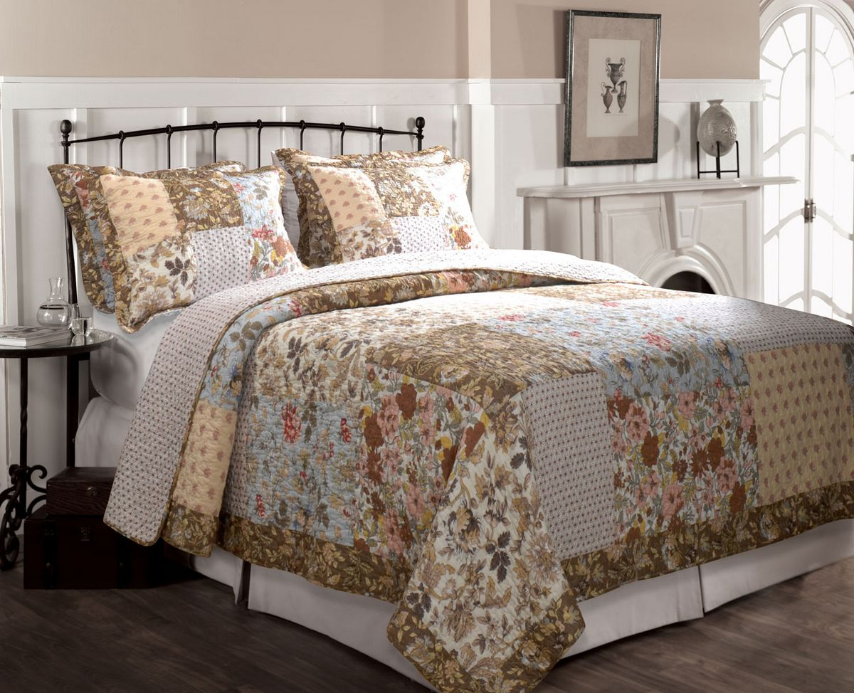 Camilla by greenland home fashions - Bedroom comforter and curtain sets ...