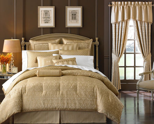 Anya pale gold by waterford luxury bedding beddingsuperstore com