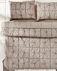 Camille Taupe by VHC Brands Quilts